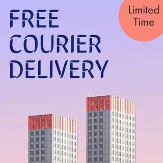 FREE COURIER DELIVERY! (Limited Time Only)
