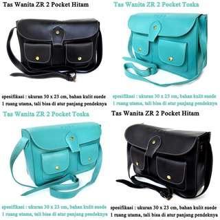 Tas Branded Selempang ZR Pocket