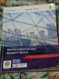 Mathematics in the Modern World (MMW)