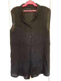 Willow Clothing Black Sleeveless Top