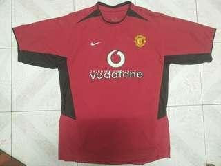 Manchester United home jersey 2002/03