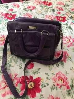Kate spade purple shoulder bag