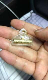 Thai Amulet - Archan Klang Seng (ACKS) - Pure Silver Takrut