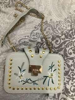 Small grey Sling Bag