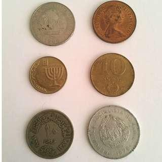 coins different countries
