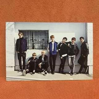 SEVENTEEN 2016 Seasons Greeting Calendar - Postcard
