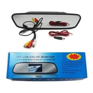 TFT MONITOR CAMERA REVERSE 4.3INCH FULL SET WITH CAMERA