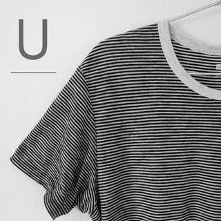 🚚 The Striped Tee by Uniqlo.