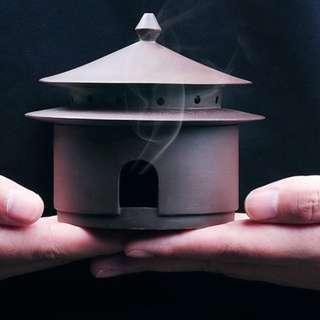 Cone coil incense burner holder scent mosquito aromatherapy