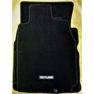 Nissan Skyline 350GT Coupe (CPV35)(03-07) car mats.