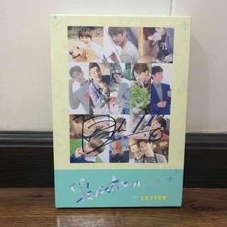 SEVENTEEN DINO Signed Love & Letter LETTER Version Album with SEUNGKWAN Bookmark