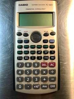 Casio 計算機 financial calculator 100v