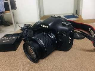 Canon 7d with 18-55mm condition good