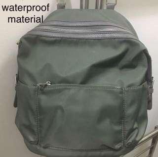 Olive Army Green Backpack Bag Waterproof Bagpack