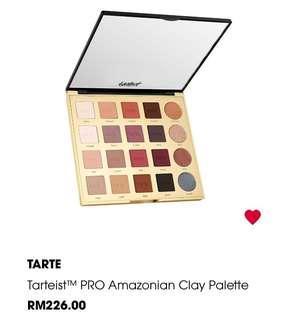 Tarte Amazonian Pro Clay Palette
