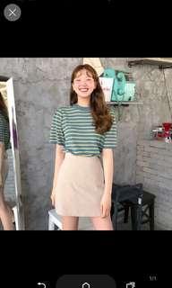 🚚 米白短裙