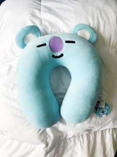 Official BT21 Koya Neck Pillow