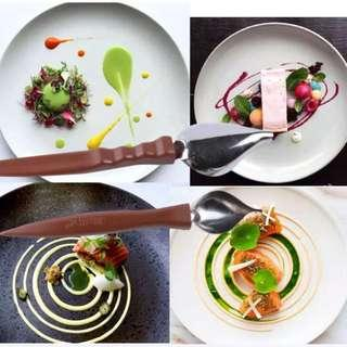 Food decorating drawing tool fine art cuisine molecular gastronomy plate