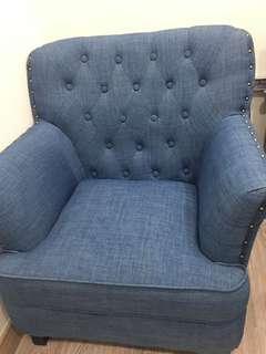 Single Seat Sofa #sofa