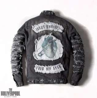 Slightly Numb-破壞牛王 NULIVERPOOLER DENIM JACKET