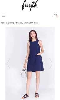 Fayth Emerlyn Shift Dress