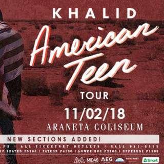 KHALID AMERICAN TEEN TOUR IN MANILA LOWERBOX