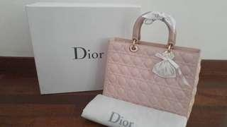 preloved Lady Dior Large size