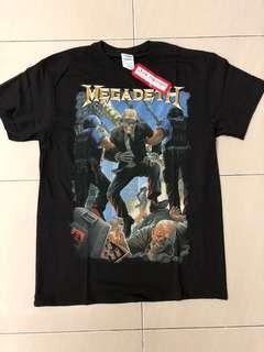 Megadeath Vic Taken Away Tees