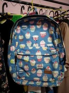 Backpack cupcake handmade