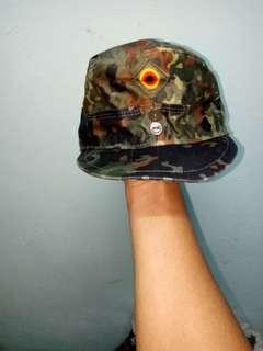 Cap german army hat flecktarn camo