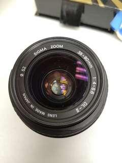 SIGMA ZOOM 35-80mm 1:4-5.6 DL-Ⅱ for Canon EF mount