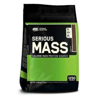 Optimum Nutritions Serious Mass (12 Lb)