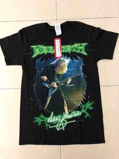 Megadeath Dave Mustaine Tees