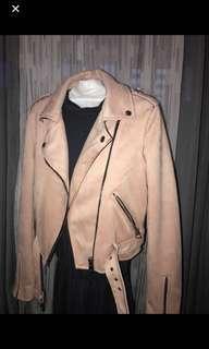 Bershka pink jacket