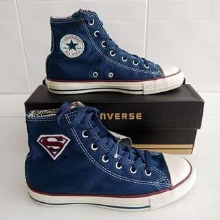 34162448cf3d Converse High Cut Superman shoe - sz US 3 (8 9 yrs)