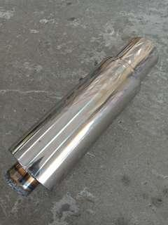 exhaust Stainless steel
