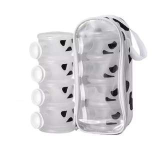 (BRAND NEW) Basilic milk powder dispenser cow design