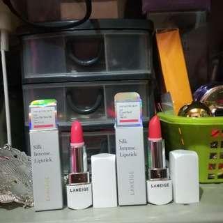 (Free Sf) Authentic Laneige Mini Lipstick