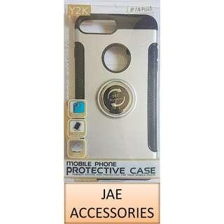 Y2K Armor 360°Rotation Metal Ring Case for Iphone X / XS etc