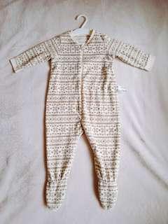 Uniqlo 80cm 包屁衣、連身衣、兔裝