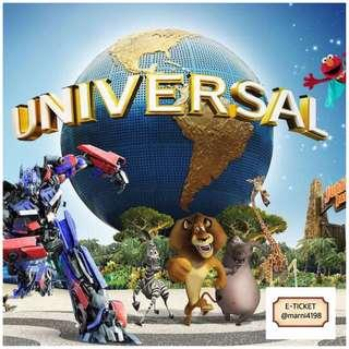 Universal Studio Singapore Open Date Etickets