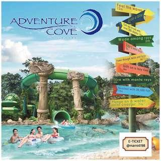 Adventure Cove Ticket