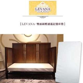 【LEVANA】雙面緩壓適溫記憶床墊/通過SGS安全檢驗 無毒性不助燃材質