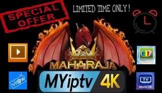 MYIPTV 4k Subscription and Renewal Service