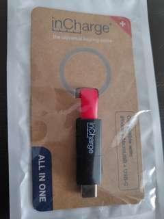 InCharge Universal keyringcable