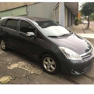 正2008年 小改款Toyota Wish 2.0E版 17.8萬