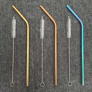 Eco-friendly Reusable Drinking Stainless Steel Straws