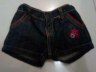 Hotpants jeans colours In