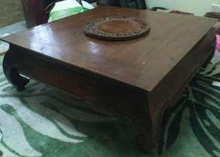 Meja Ketapang Kayu Jati / meja jepun