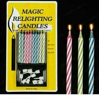 Magic Relighting Candle